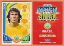 Brazil Zico Udinese International Legend